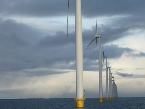 洋上風力発電への参入